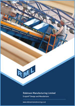 Ecojoist brochure by Robinson Manufacturing