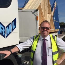 transport manager Chris Alldread