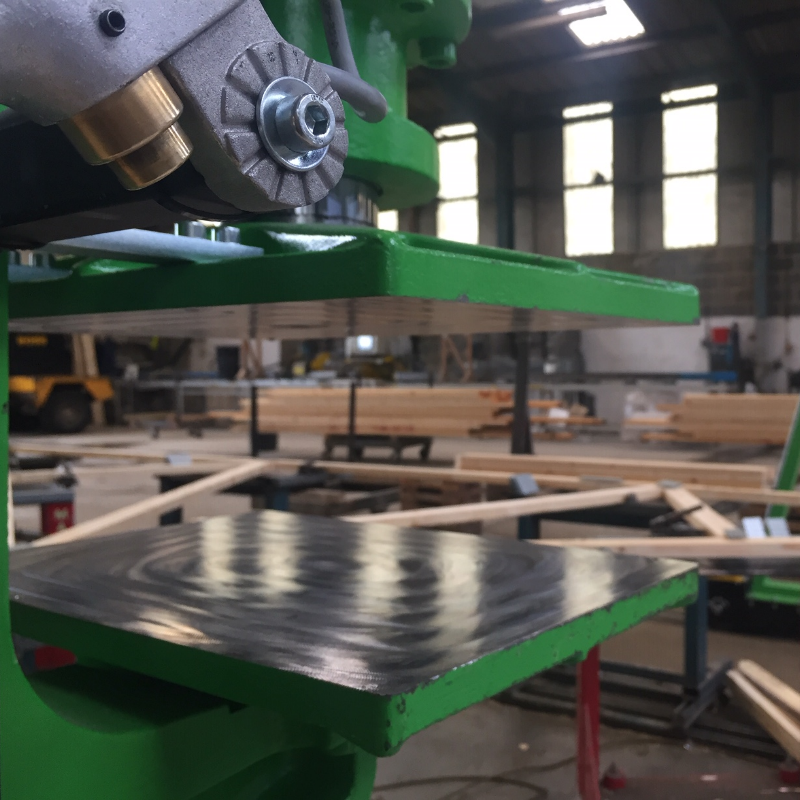 new roof truss press