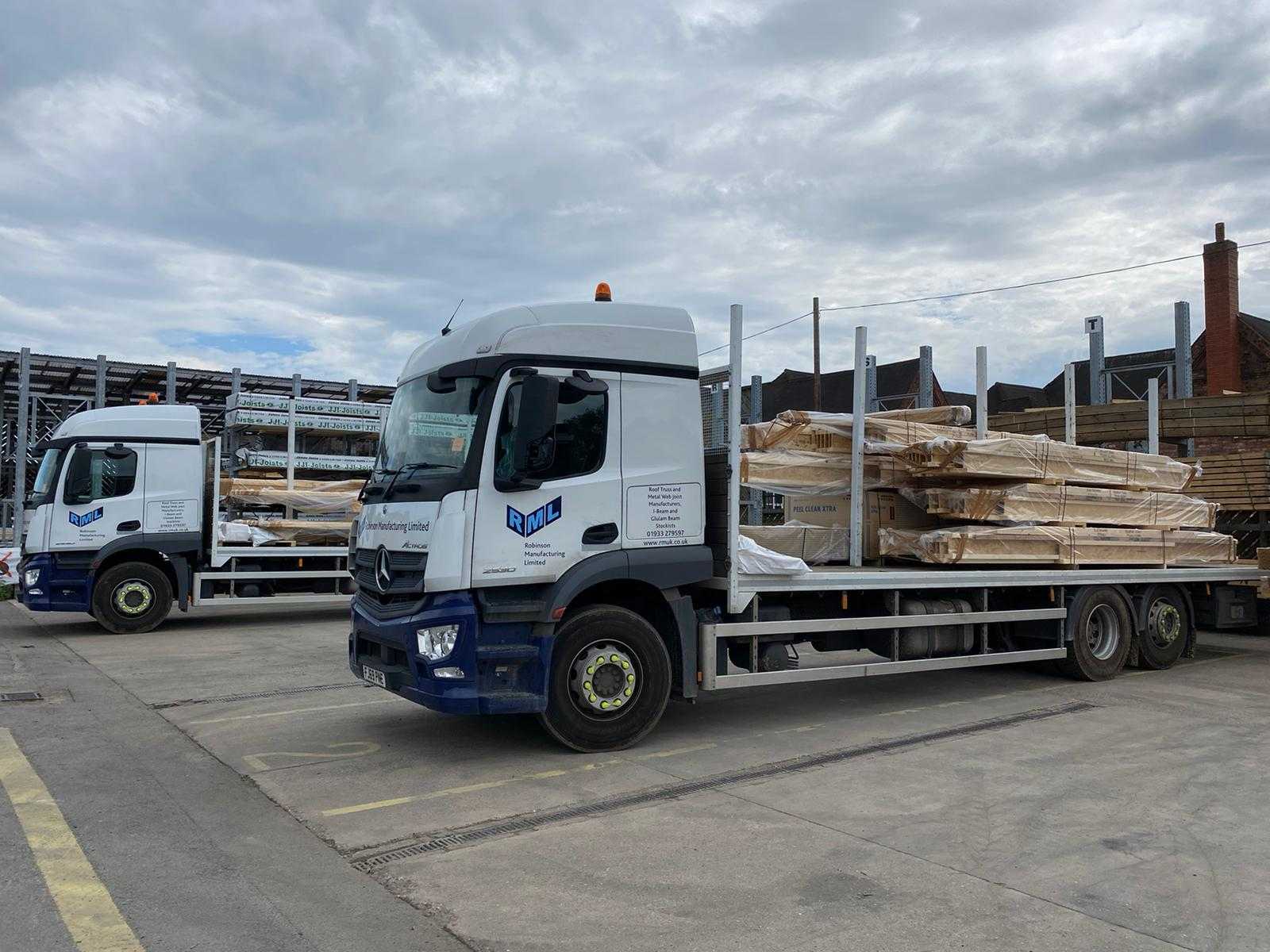 I-Beams for Telford delivery